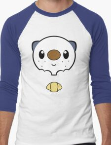 Oshawott Face Men's Baseball ¾ T-Shirt