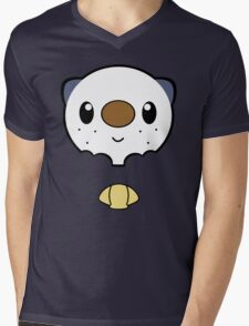 Oshawott Face Mens V-Neck T-Shirt
