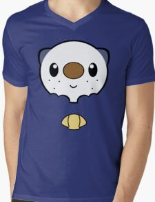 Oshawott Face Mens V-Neck T-Shirt