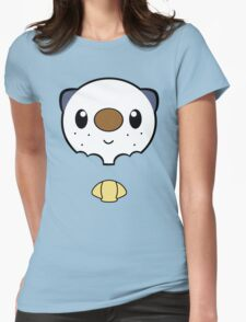 Oshawott Face Womens Fitted T-Shirt