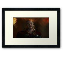 the Golden Son Framed Print