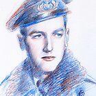 Franco Benetti portrait by Francesca Romana Brogani