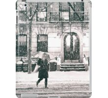 Snow at Night - New York City iPad Case/Skin