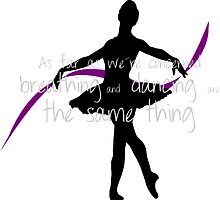 Ballet dancer with cute quote by hulkingrach