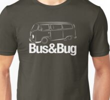 VW Camper 2 Bus and Bug Unisex T-Shirt