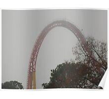 Intimidator 305 Roller Coaster Poster