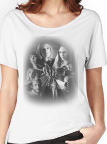 Lost girl - broken glass [black] Women's Relaxed Fit T-Shirt