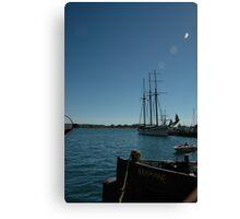 Tall ship in Toronto Canvas Print