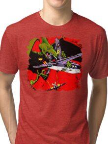 Dino War Tri-blend T-Shirt