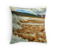 """Tidal"" Throw Pillow"
