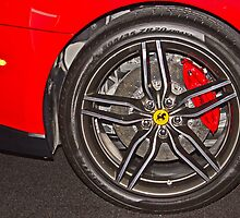 Ferrari Wheel by GalleryThree