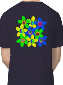 Flower Power 60s-70s T (back) Classic T-Shirt