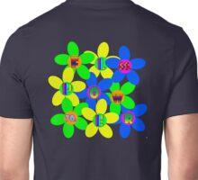 Flower Power 60s-70s T (back) Unisex T-Shirt