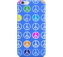Peace Symbol Pattern With Dots iPhone Case/Skin