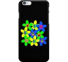 Flower Power 60s-70s T (back) iPhone Case/Skin