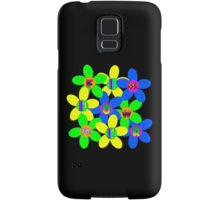 Flower Power 60s-70s T (back) Samsung Galaxy Case/Skin