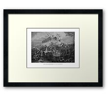 Historical Monument Of Our Country Framed Print