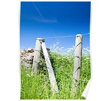 The Fence across the Cotswolds Poster