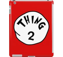 Thing 2 - gift idea, matching family- vacations iPad Case/Skin