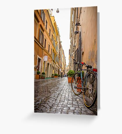 Italian alley / Ruelle italienne Greeting Card