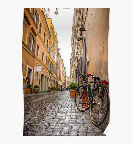 Italian alley / Ruelle italienne Poster