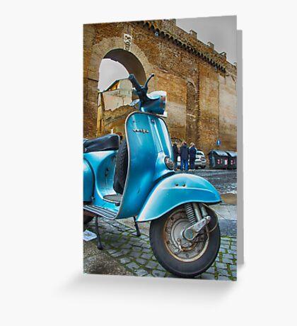 The italian way Greeting Card