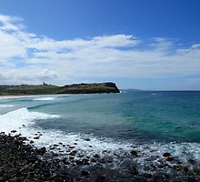 Looking North To Lennox Head by Noel Elliot