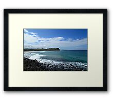 Looking North To Lennox Head Framed Print