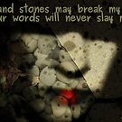 sticks and stones by Adrena87
