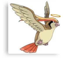 Bird Jesus Canvas Print