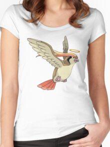 Bird Jesus Women's Fitted Scoop T-Shirt