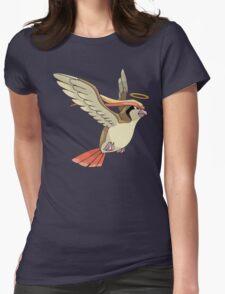 Bird Jesus Womens Fitted T-Shirt
