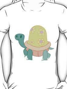 Cutesy Flower Turtle T-Shirt