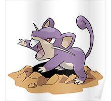 Dig Rat Poster