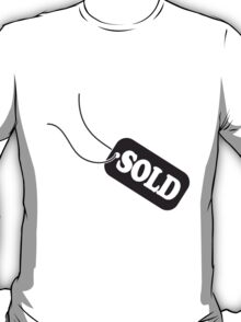 Sold sold reduced price tag T-Shirt