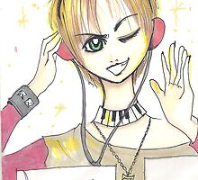 Manga bday card II by debzandbex