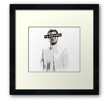 Hijacked Peeta Framed Print