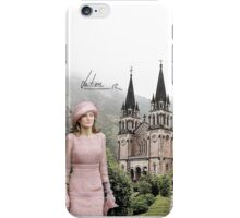 Queen Letizia in Covadonga iPhone Case/Skin