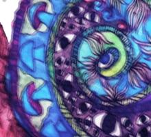 Trippy Snail Sticker