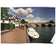 Henley Bridge  Poster