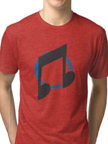 Vinyl Scratch/ DJ-Pon3 Tri-blend T-Shirt