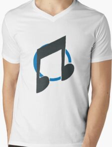 Vinyl Scratch/ DJ-Pon3 Mens V-Neck T-Shirt