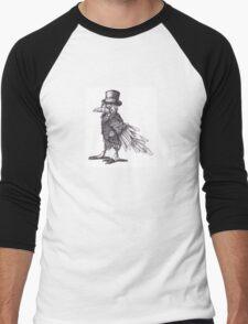 Steampunk Raven Men's Baseball ¾ T-Shirt