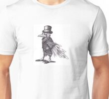 Steampunk Raven Unisex T-Shirt