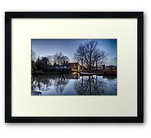 Pulls Ferry, Norwich Framed Print