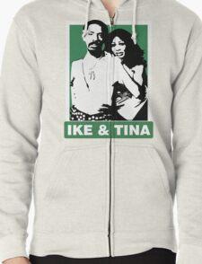 Ike and Tina Zipped Hoodie