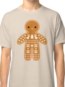Sweater Pattern Gingerbread Cookie Classic T-Shirt