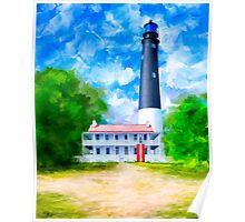 Pensacola Lighthouse - Historic Florida Coast Poster