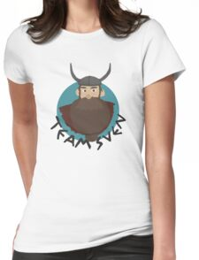 "Defenders of Berk (How To Train Your Dragon) ""Team Sven"" Womens Fitted T-Shirt"