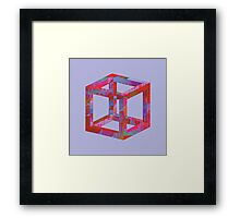 Impossible Cube Framed Print